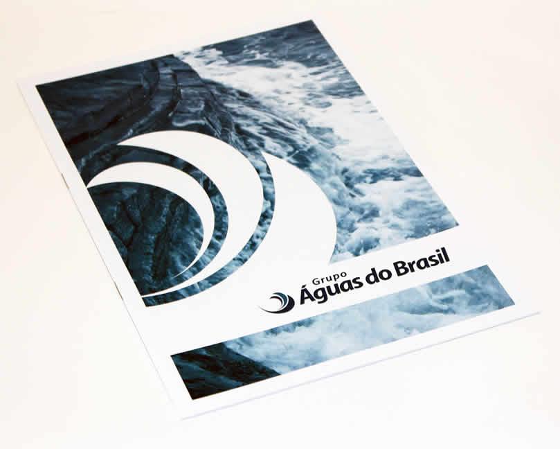 Folheto Grupo Águas do Brasil